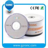 50PCS는 포장 4.7GB 120min 1-16X 공백 DVD-R를 수축 포장한다