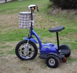vespa Handicapped de tres ruedas 800W de la vespa eléctrica de la movilidad con Ce