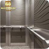 エッチングされたデザイン装飾的なステンレス鋼のエレベーターの小屋の装飾
