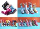 2018のさまざまな雨靴、ゴム製雨靴、中国のゴム長
