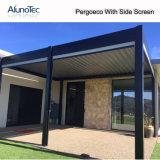 Ouverture en aluminium réglable de Pergola de Raiproof de coût bas pour le balcon