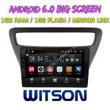 "Witson grande ecrã de 9"" com sistema Android 6.0 aluguer de DVD para Chevrolet Lova RV (BAIXO) 2016"