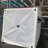 Tessuto filtrante industriale del tessuto della filtropressa di trattamento di acque di rifiuto (pp/PA/PE)