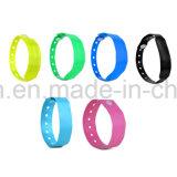 PVC maleável RFID descartáveis passiva bracelete / Pulseira para Festa