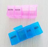 Rectángulo semanal de la píldora del almacenaje de la medicina envase del compaginador de la tablilla de 7 días