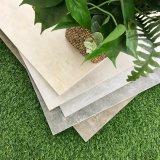 600*600 Pierre de béton de bois en céramique émaillée jet d'encre de l'intérieur Wall Tile (OTA601-beige)