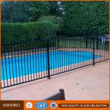 Rete fissa nera del raggruppamento d'acciaio/rete fissa della piscina