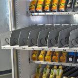 Het bankbiljet stelde de Koele Automaat van Dranken Met het Scherm van de Aanraking in werking