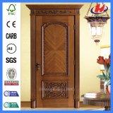 Porte de luxe de salle de séjour solide de bâti en bois d'artisan (JHK-004P-CS)