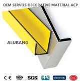 panneau composé en aluminium d'usage de 5mm largement