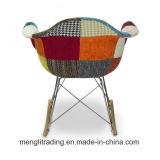 Commerce de gros fauteuil Fauteuil à bascule de tissu avec du fil de base en plein air