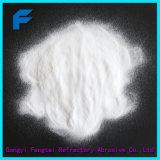 El polvo de óxido de aluminio fundido blanco Corindón de color blanco granos abrasivos