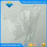 La impresión personalizada de Cierre de botón mango de plástico de bolsa de PVC