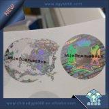 Les numéros de l'étiquette holographique authentique