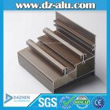 Profilo di alluminio del grano di legno per il portello della finestra