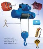 La qualité a fixé l'élévateur électrique de grue de câble métallique 3t