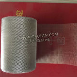 Сетка фильтра отверстия 2.0mmx3.0mm диаманта расширенная серебром