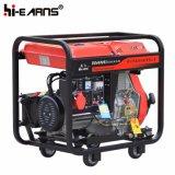 Air-Cooled тип открытой рамки тепловозный комплект генератора трехфазный (DG6000E3)