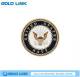 軍隊は硬貨の軍隊海軍硬貨メダル記念品の金属のクラフトに挑戦する