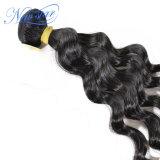 Onda allentata brasiliana i gruppi 100% del 1 della parte del Virgin dei capelli umani tessuto dei capelli