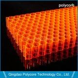 Пк Honeycomb в здание из стекла для экономии электроэнергии и повышения потенциала искусство