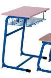분홍색 색깔 대중적인 교실 단 하나 책상 및 의자 또는 학교 가구 (FS-3212)