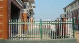 Горячим загородка гальванизированная садом стальная 65-3 обеспеченностью типа шикарным декоративным