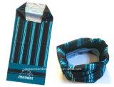China-Fabrik-Erzeugnis fertigen Druck-Streifen blaue Microfiber Multifunktionsstutzen-Rolle kundenspezifisch an