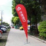 Bandierina di spiaggia esterna della bandiera della bandierina di volo di buona qualità da Tongjie