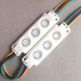 W/R/G/B 색깔 0.72W 3LEDs는 옥외 Inddor LED Signage Lightbox 또는 금속 편지를 위한 SMD5050 LED Signage 모듈을 방수 처리한다