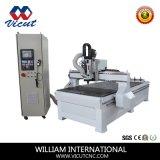 Holzbearbeitung, die Form-Industrie CNC-Maschine mit ATC bekanntmacht