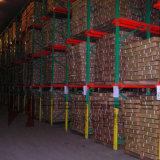 5 unidade profunda de paletes de paletes na sala fria