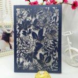 最もよい品質によってカスタマイズされる挨拶状の結婚式の招待のカードの印刷