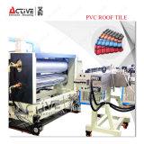 Máquina acanalada del azulejo de azotea del PVC del plástico del surtidor chino