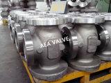 Valvola a sfera superiore Buttweld montata perno di articolazione d'acciaio forgiata dell'entrata