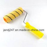 Щетка ролика ручки щетки ролика декоративной краски высокого качества пластичная в Гуанчжоу