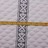 매트리스 감싸기를 위한 100%년 폴리에스테 자카드 직물에 의하여 뜨개질을 하는 가정 직물