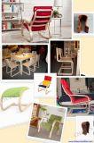 Imprensa curvada alta freqüência da madeira compensada para a cadeira