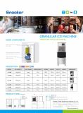 Comercial Venta caliente Maquina de hielo para las verduras Frescas