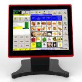 Kompletter Positions-Systems-Kassierer registriert bestes Positions-System für kleine Gaststätte