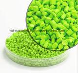 高品質のペットPPファイバーのための競争価格薄緑のMasterbatch