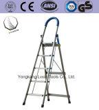 高品質の軽量の折る世帯のステンレス鋼の梯子