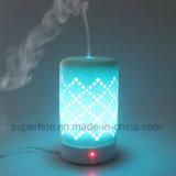 Nuovo diffusore elettrico portatile ultrasonico di ceramica dell'aroma dell'olio essenziale di disegno di proiezione con foschia fredda