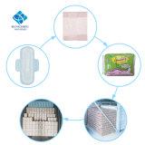 Fonction respirante et forme ailée femmes fabricant des serviettes hygiéniques