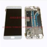 Pantalla del LCD de los recambios del teléfono móvil para la asamblea del digitizador de Oppo R9, para Oppo R9 LCD