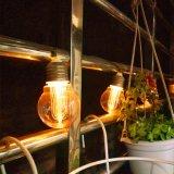 Feux à LED solaire chaîne- lumière suspendue de plein air de qualité commerciale
