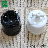 Antiquierte Weinlese-Retro Drehkeramischer Oberflächenschalter und Kontaktbuchse