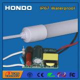 IP67는 옥외 사용을%s 2FT/3FT/4FT/5FT 9W/14W/18W/22W T8 LED 형광등을 방수 처리한다