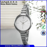 Venta caliente ODM reloj de cuarzo de aleación de Casual Damas Relojes de Pulsera (Wy-071A)