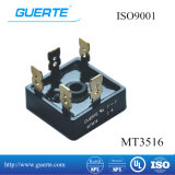 ISO9001の三相橋整流器Mt 35A 1600V
